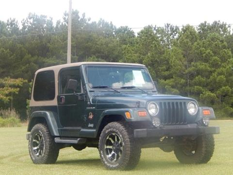 2002 Jeep Wrangler for sale in Crystal Springs, MS