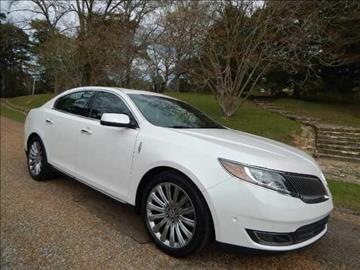 2013 Lincoln MKS for sale in Crystal Springs MS