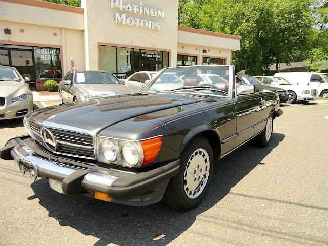 Perfect 1989 Mercedes Benz 560 Class 560SL 2dr Convertible   Freehold NJ