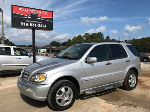 2004 Mercedes-Benz M-Class for sale in Raleigh, NC