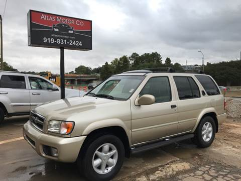 2001 Nissan Pathfinder for sale at Atlas Motor Co. in Raleigh NC