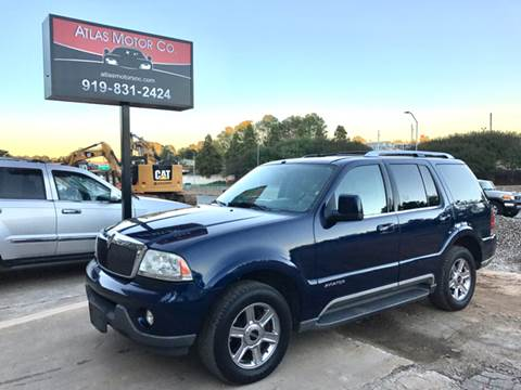 2004 Lincoln Aviator for sale at Atlas Motor Co. in Raleigh NC