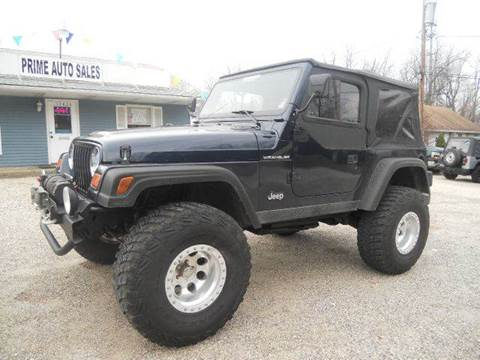 1997 Jeep Wrangler for sale at Prime Auto Sales in Uniontown OH