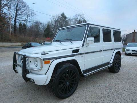 2003 Mercedes-Benz G-Class for sale at Prime Auto Sales in Uniontown OH