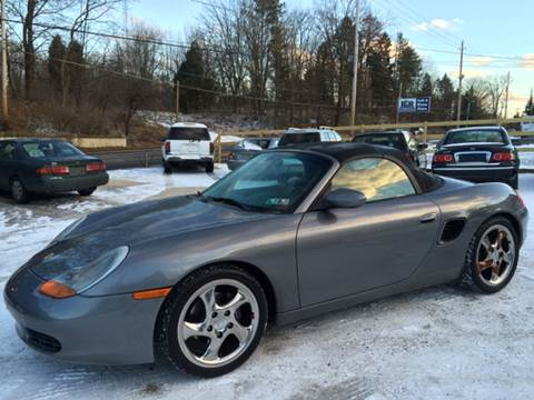2001 Porsche Boxster for sale at Prime Auto Sales in Uniontown OH