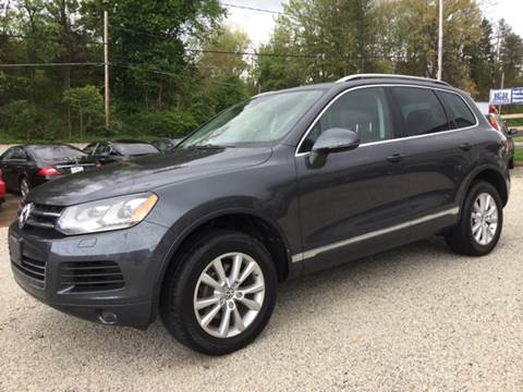 2014 Volkswagen Touareg for sale at Prime Auto Sales in Uniontown OH