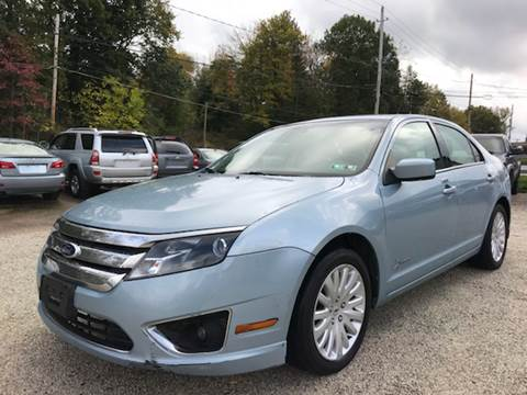 2011 Ford Fusion Hybrid for sale at Prime Auto Sales in Uniontown OH