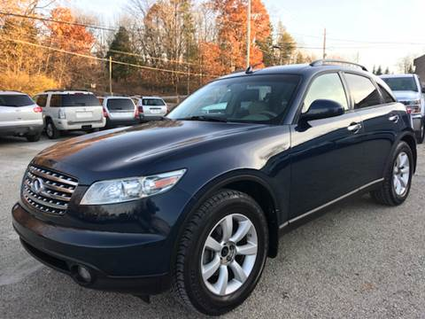 2005 Infiniti FX35 for sale at Prime Auto Sales in Uniontown OH
