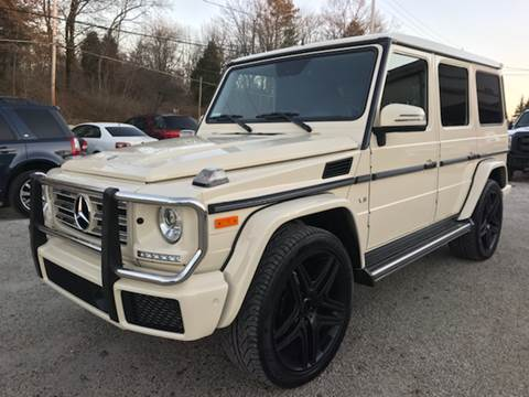 2016 Mercedes-Benz G-Class for sale at Prime Auto Sales in Uniontown OH