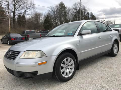 2003 Volkswagen Passat for sale at Prime Auto Sales in Uniontown OH