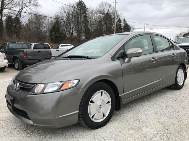 2007 Honda Civic Hybrid 4dr Sedan   Uniontown OH