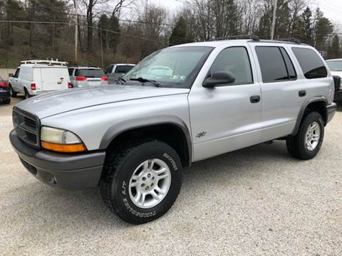 2002 Dodge Durango for sale at Prime Auto Sales in Uniontown OH