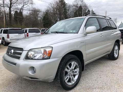2006 Toyota Highlander Hybrid for sale at Prime Auto Sales in Uniontown OH