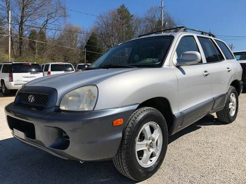 2004 Hyundai Santa Fe for sale at Prime Auto Sales in Uniontown OH