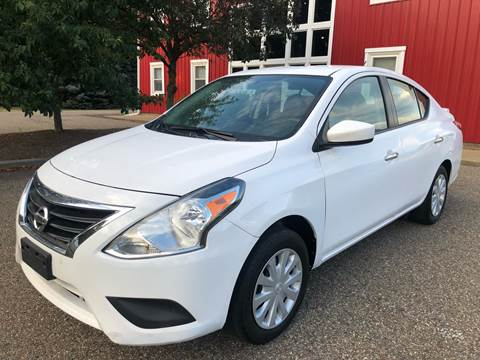 2017 Nissan Versa for sale at Prime Auto Sales in Uniontown OH