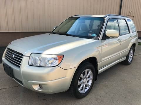 2007 Subaru Forester for sale at Prime Auto Sales in Uniontown OH