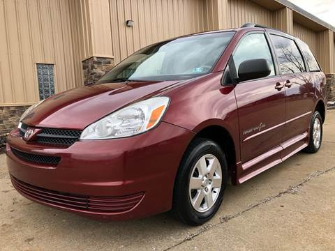 2005 Toyota Sienna for sale in Uniontown, OH