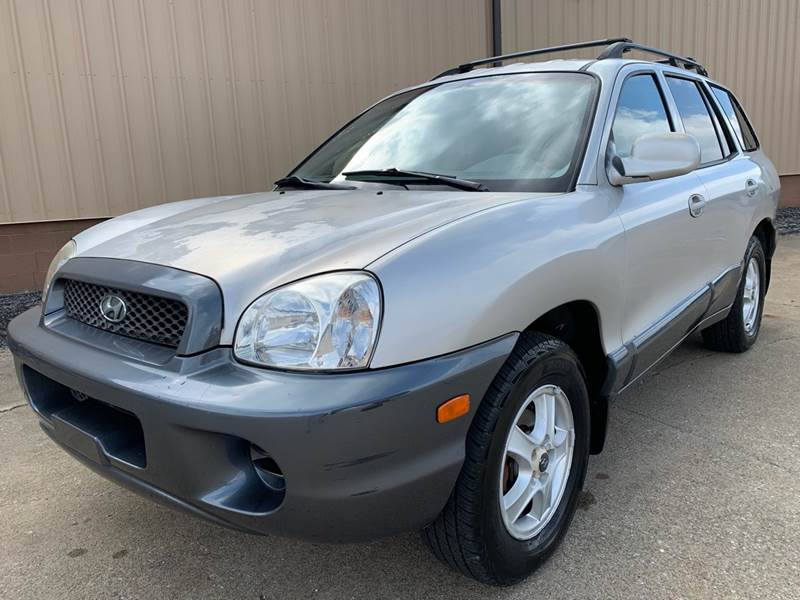 The Best Hyundai 2002 Santa Fe