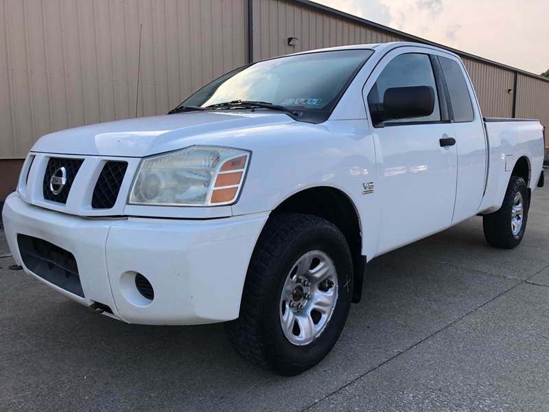 2004 Nissan Titan 4dr King Cab Xe 4wd Sb In Uniontown Oh Prime Auto Sales