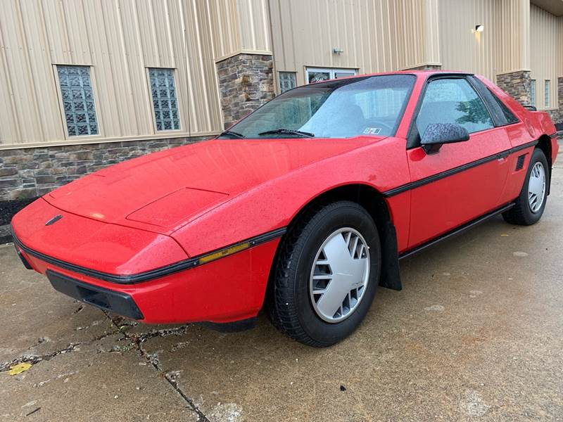 1986 Pontiac Fiero Sport 2dr Coupe In Uniontown OH - Prime