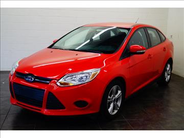 2013 Ford Focus for sale at FREDY KIA USED CARS in Houston TX