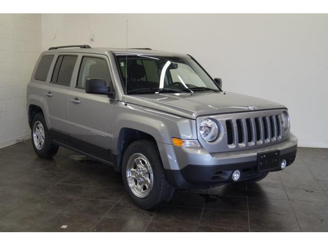 2017 Jeep Patriot for sale at FREDY KIA USED CARS in Houston TX