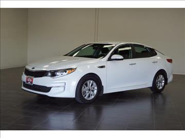 2016 Kia Optima for sale at FREDY KIA USED CARS in Houston TX