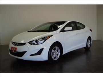 2014 Hyundai Elantra for sale at FREDY KIA USED CARS in Houston TX
