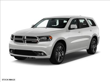 2017 Dodge Durango for sale at FREDY KIA USED CARS in Houston TX