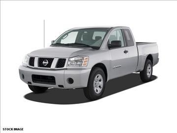2008 Nissan Titan for sale at FREDY KIA USED CARS in Houston TX