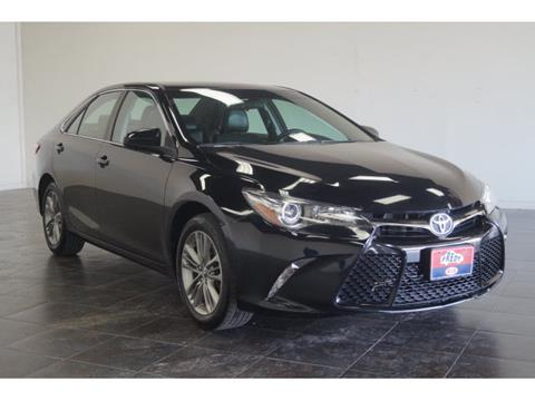 2015 Toyota Camry for sale at FREDY KIA USED CARS in Houston TX