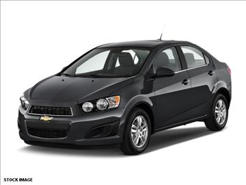 2015 Chevrolet Sonic for sale at FREDY KIA USED CARS in Houston TX