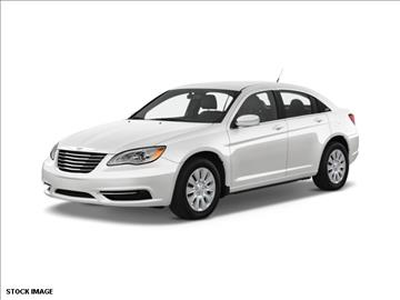 2013 Chrysler 200 for sale at FREDY KIA USED CARS in Houston TX