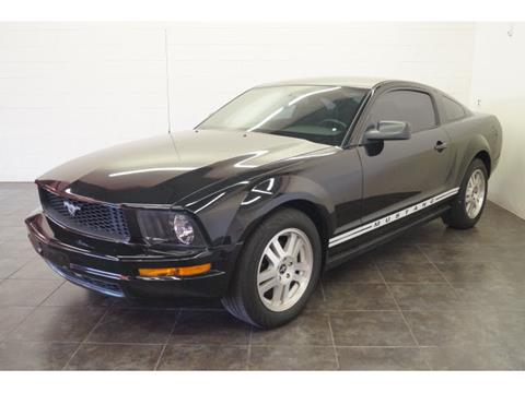 2007 Ford Mustang for sale at FREDY KIA USED CARS in Houston TX