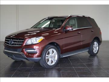 2013 Mercedes-Benz M-Class for sale at FREDY KIA USED CARS in Houston TX
