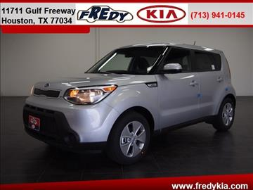 2016 Kia Soul for sale at FREDY KIA USED CARS in Houston TX
