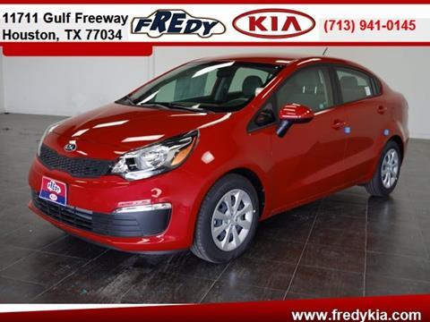 2017 Kia Rio for sale at FREDY KIA USED CARS in Houston TX
