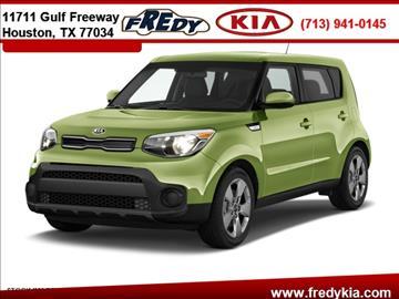 2017 Kia Soul for sale at FREDY KIA USED CARS in Houston TX