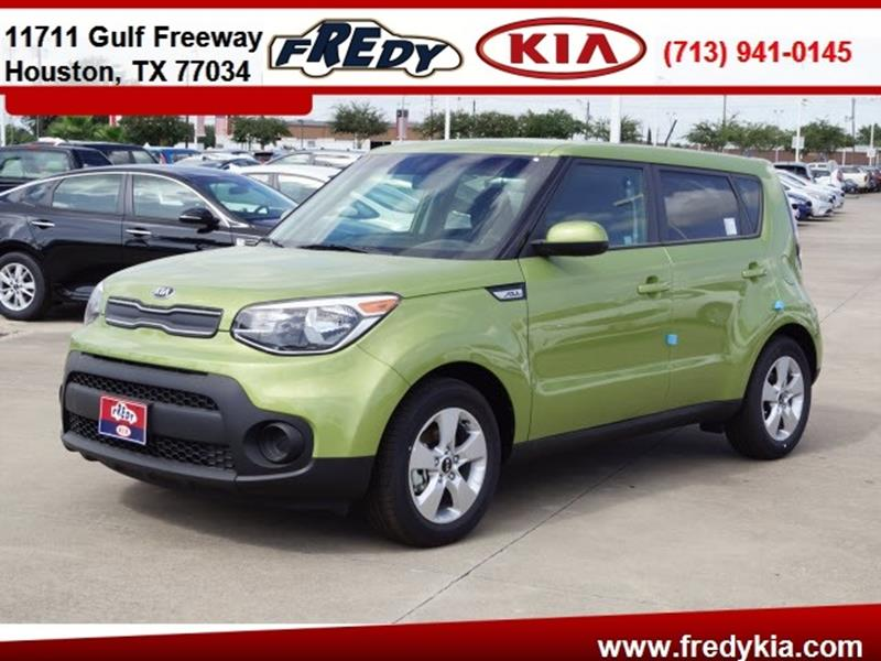 2017 Kia Soul for sale at FREDY KIA USED CARS in Houston TX