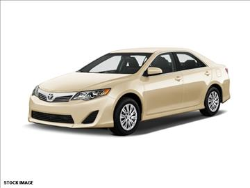 2012 Toyota Camry for sale at FREDY KIA USED CARS in Houston TX
