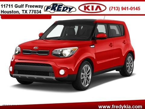 2018 Kia Soul for sale at FREDY KIA USED CARS in Houston TX