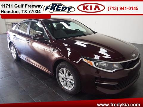 2016 Kia Optima for sale in Houston, TX