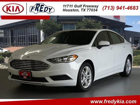 2018 Ford Fusion for sale in Houston, TX