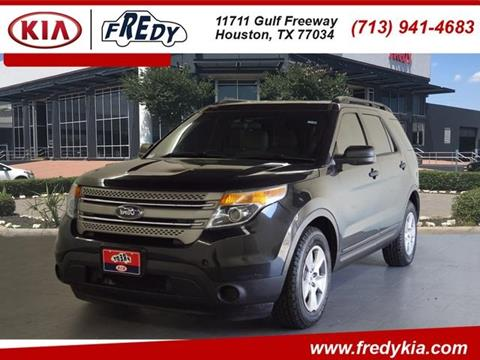 2013 Ford Explorer for sale at FREDY KIA USED CARS in Houston TX