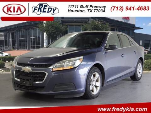 2015 Chevrolet Malibu for sale at FREDY KIA USED CARS in Houston TX