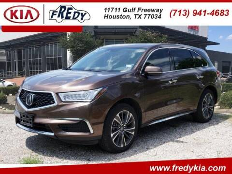 2019 Acura MDX for sale at FREDY KIA USED CARS in Houston TX