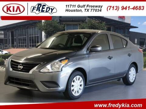 2019 Nissan Versa for sale at FREDY KIA USED CARS in Houston TX