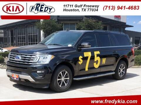2019 Ford Expedition MAX for sale at FREDY KIA USED CARS in Houston TX