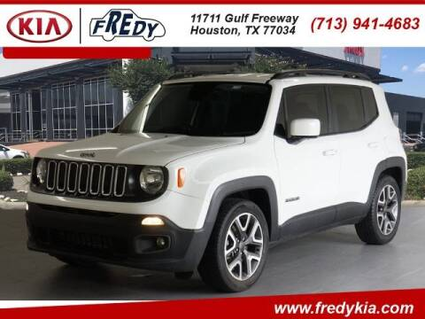 2018 Jeep Renegade for sale at FREDY KIA USED CARS in Houston TX