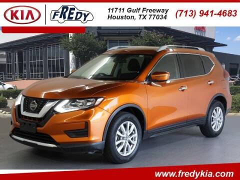 2019 Nissan Rogue for sale at FREDY KIA USED CARS in Houston TX
